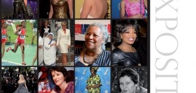 Affiche de l'exposition femmes célèbres