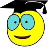 Smiley étudiant