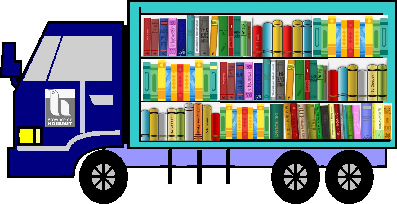 camionnette prêt-interbibliothèques