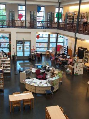 photo de la bibliothèque de Fleurus