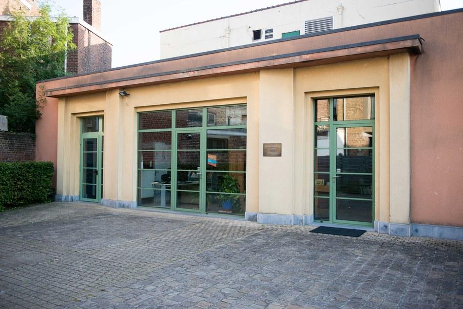 façade bibliothèque