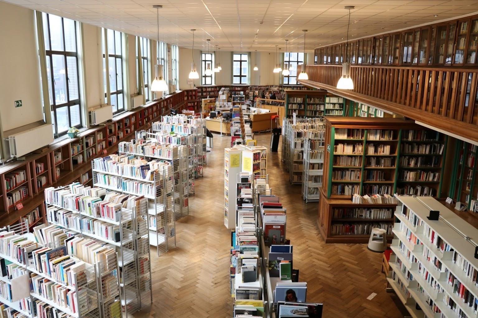 Bibliothèque Langlois - Section adultes